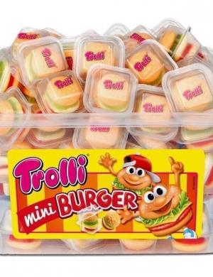Kẹo dẻo Trolli Mini Burger 600g của Đức
