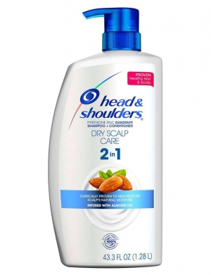 DẦU GỘI XẢ HEAD & SHOULDERS 2 IN 1 DRY SCALP CARE - 1,28L