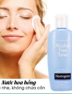 Nước hoa hồng không cồn Neutrogena Alcohol-Free Toner - 250ml