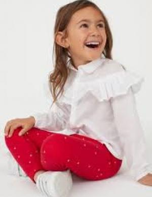 (H&M) Quần legging bé gái nhập Mỹ